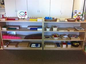 "Beautifully prepared Montessori sensorial shelves. ""The ..."