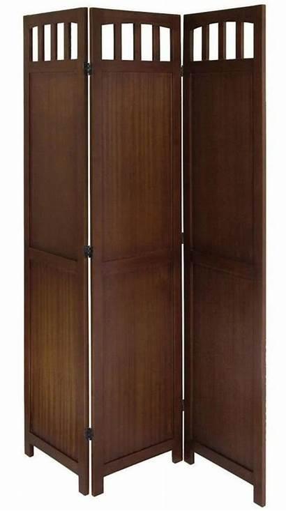 Divider Screen Wood Panel Walnut Solid