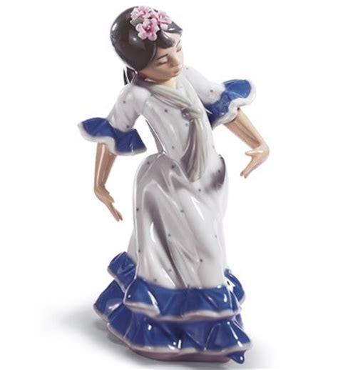 lladro juanita spanish dancing girl porcelain figurine