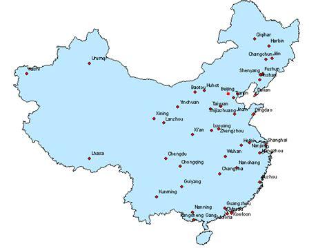 Carte De Avec Villes Principales by Carte Chine Sud Trouver Des Id 233 Es Pour Voyager En Asie