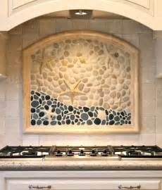 Kitchen Backsplash Tile Murals Coastal Kitchen Backsplash Ideas With Tiles From Murals To Nautical Blue Tiles