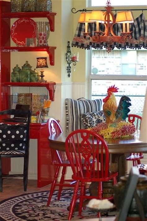 red dining chairs  interior designs messagenote