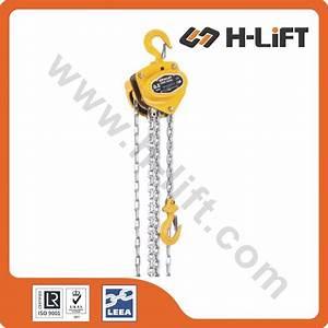 China Manual Chain Hoist    Chain Block Ch-b Type
