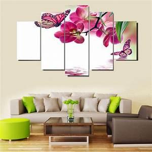 Decoration Murale Tableau : tableau orchidee deco murale image orchidee sur toile pas cher ~ Teatrodelosmanantiales.com Idées de Décoration