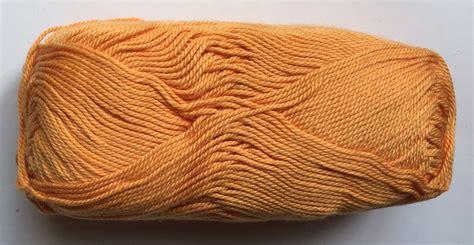 Gentle kokvilna, oranžs, 50g - Kokvilnas diegi - Dzijas ...