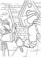 Splinter Coloring Pages sketch template