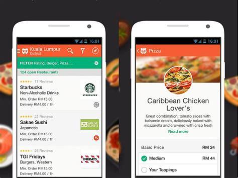 foodpanda app  android  ios  cashless mobile