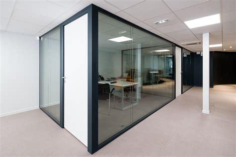 cloison bureau vitr馥 porte de bureau vitree maison design homedian com