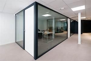 Isolation Phonique Cloison : cloison amovible vitr e de bureau open space isolation ~ Melissatoandfro.com Idées de Décoration