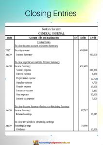 adjusted trial balance closing entries