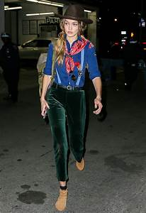 Scout's Honor: The Perfect Cropped Velvet Pants Gigi Hadid