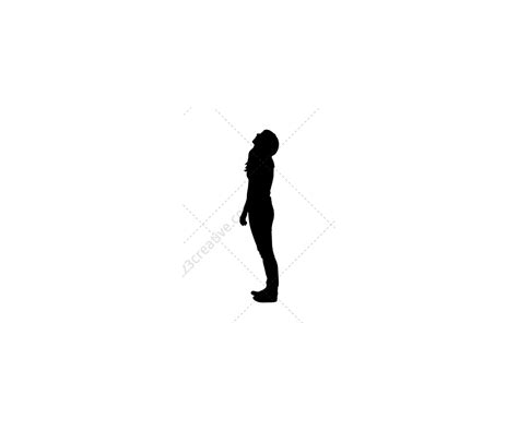 ladies vector silhouettes female vector pack