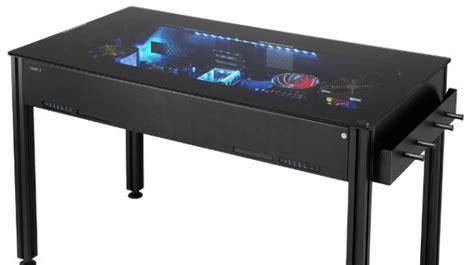 computer desks for geeks lian li announces new line of hybrid computer cases that
