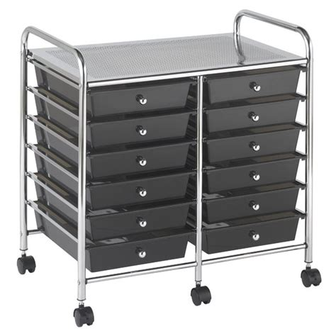 rolling storage carts plastic storage drawers you 39 ll wayfair