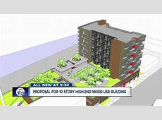 Proposal for 10 story highend mixeduse building on the