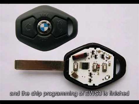 bmw ews key programming instruction youtube