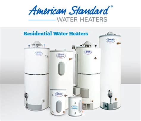 american standard water heaters george salet plumbing