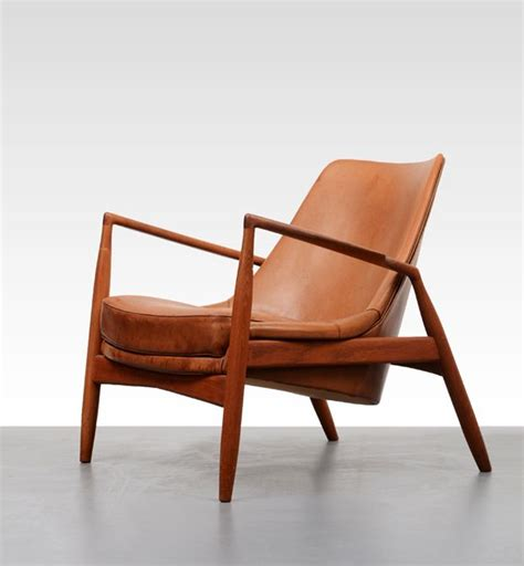 kofod larsen low back seal chair furniture