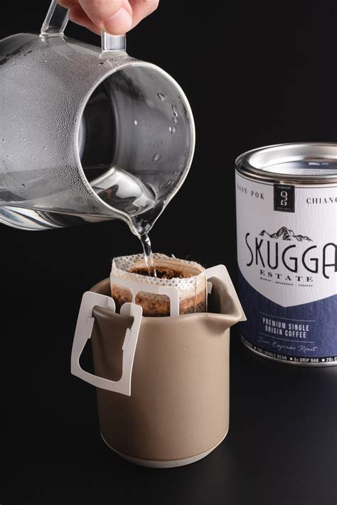 [home cafe vlog series #1: 5. Coffee Drip Bags | Skugga EstateSkugga Estate - Coffee Planatation