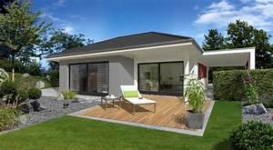 Bungalow Mit Garage Bauen : musterhaus bungalow mit garage ~ Lizthompson.info Haus und Dekorationen