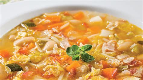 marjolaine cuisine minestrone à la marjolaine recettes cuisine et