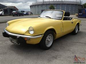 Triumph Spitfire Mk4 : triumph spitfire mk4 mimosa yellow taxed and tested just restored ~ Medecine-chirurgie-esthetiques.com Avis de Voitures