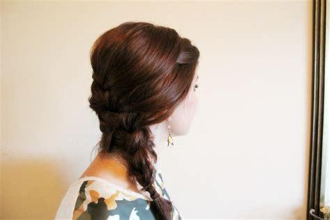 glamorous braided  bun hairstyles  spring