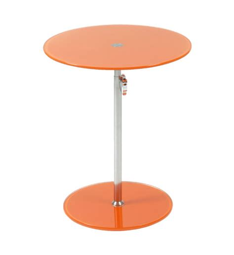 colored glass table ls round colored glass adjustable side table in accent tables