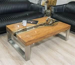Eckiger Designer Wohnzimmertisch 120 X 80 Cm Aus Holz