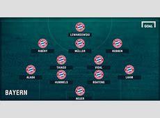 Como o Bayern de Munique vai enfrentar o Real Madrid