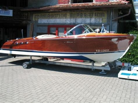 Riva Boats Vintage by Riva Ariston 1964 Vintage Wooden Boats