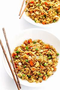"""Quinoa Fried """"Rice"""" 