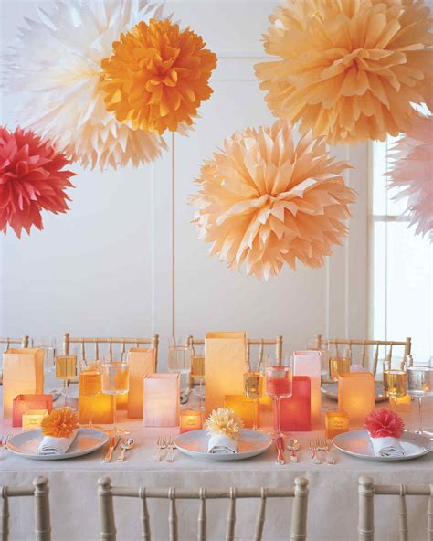 Tissue Paper Pom Poms Diy Ideas And Tutorials