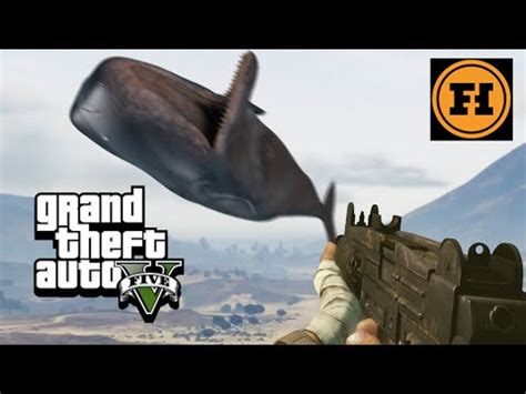 mod gameplay whale cannon in gta 5 youtube