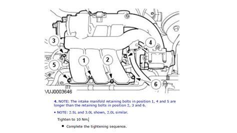 2003 Jaguar X Type V6 Engine Diagram by Intake Manifold Bolts 2004 X Type 3 0l Jaguar Forums