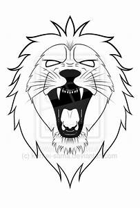 Roaring Lion Tattoo Sketch | Ideas Tattoo Collection