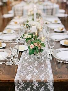 9 trending table runners for weddings mywedding With wedding decorations table runners