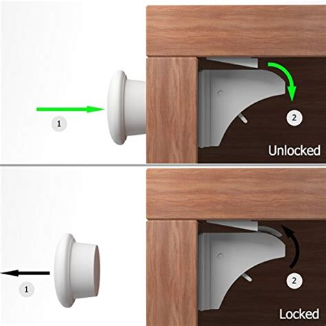 Baby Proofing Cupboards by Baby Proofing Magnetic Cabinet Lock Set Sherry Child