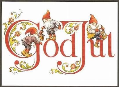 Christmas Scandinavian Norwegian Cards Gnome Gnomes Danish