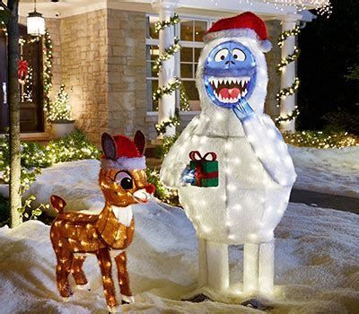 Rudolph Outdoor Decorations - outdoor decorations
