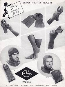 Fabulous Forties Fashions Vintage WW2 Services Knitting ...