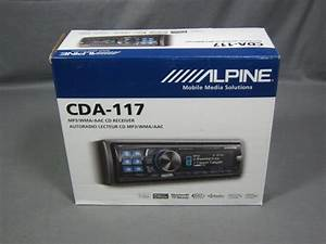 New Alpine Cda Wma  Aac  Bluetooth  Hd Cd Receiver