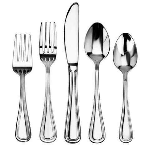 stainless steel flatware star pattern slimline foodservice piece sets amazon