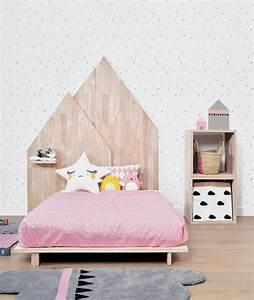 Tete De Lit Bois Clair : le meilleur mod le de votre lit adulte design chic ~ Teatrodelosmanantiales.com Idées de Décoration