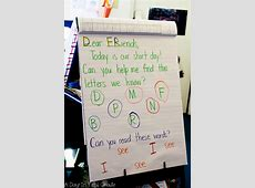 A Day in First Grade How to set up a morning meeting in