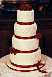 Burgundy Wedding Cake Archives - Little Bear Cakery
