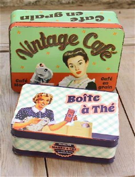 boite cuisine vintage boite metal vintage the deco zinc deco cuisine