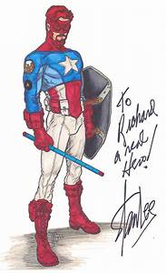 American Patriot signed by Stan Lee by Spake759 on deviantART