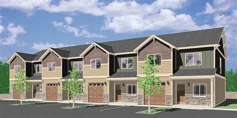 House Plans For Sale  Fourplex, 4 Plex, Quadplex Plans