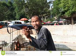 Chinese Man In Guangxi Region Editorial Photography ...